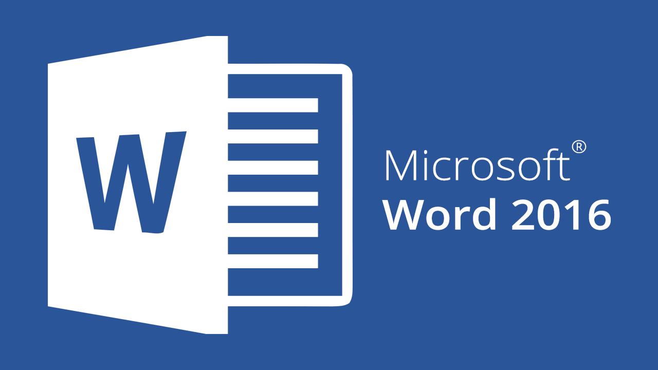 Microsoft Word 2016 Essentials